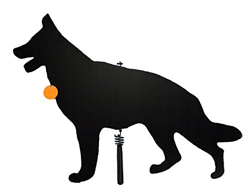 Watch Dog Goose Patrol Lone Dog Decoy - Predator Decoys, Repellent for Geese, Deer - Goose Deterrent, Dog Decoy to Keep Away Pests - Predator Replica Visual Scare Device