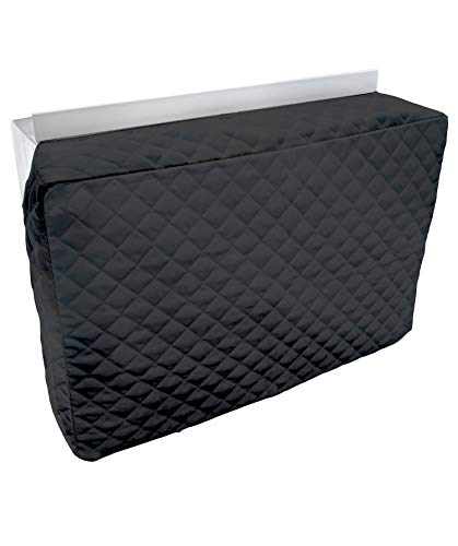 Sturdy Covers Indoor AC Cover Defender - Insulated Indoor Air Conditioner Unit Cover (Black, 20 x 28 x 4)