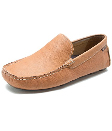 Red Tape Men's Brown Leather Loafers - 9 UK/India (43 EU)(RTS10193)