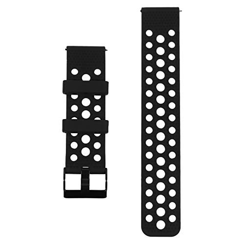 ibasenice Bandas de Reloj de Silicona Suave Correas de Liberación Rápida Bandas de Reloj de Goma Compatibles con Samsung