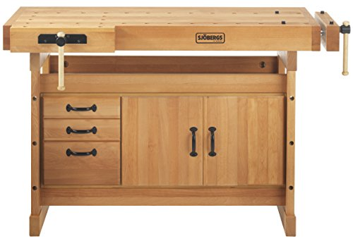 Sjöbergs Scandi Plus 1825 Work Bench & SM03 Storage Cabinet | SJO-66736K