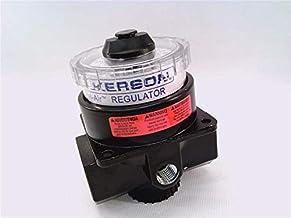 "WILKERSON PNEUMATIC R21-02-000 DIAL AIR Regulator, MAX Temp of 150F, 1/4"" NPT, 300 PSI MAX, 2 Gauge Ports"