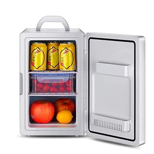 XiYou Car Refrigerator-16L Silent Mini Fridge Cooler and Warmer & Mdash; Blanco para automóviles y Camiones