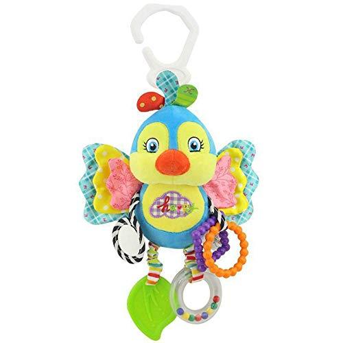 Mascota cama colgante torno multifuncional colgando peluches, juguetes educativos, desarrollo de juguetes de ejercicio, sonajeros, espejos, campanas mordedores de cama