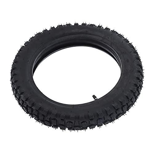 Zhat 3.00-12 Neumático, Accesorios Profesionales para Motocicletas Conjunto de Tubo Interior de neumático Neumático de Motor Tubo Interior de Motocross para Dirt Bike Off Road