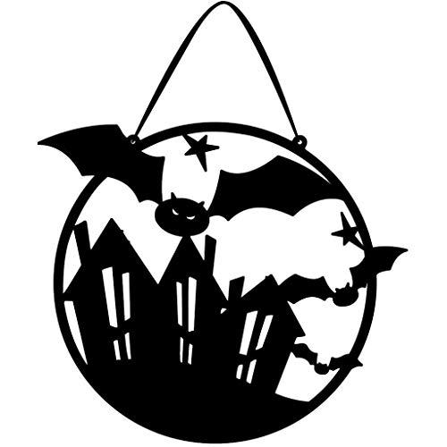 Sayla Halloween Dekorationen Ghost Windsock Halloween Hanging Decoration für Innenministerium-Garten-Portal-Haustür-Dekorationen (A)