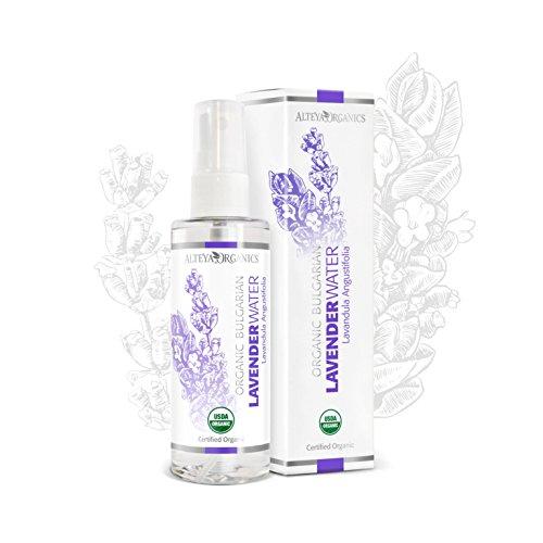 Alteya Organic Agua Floral de Lavanda 100 ml Spray – Antiséptico y Antiinflamatorio -...