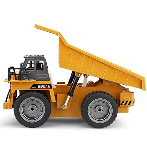 RC Auto kaufen LKW Bild 3: likeitwell 2.4G 6-Kanal-Vollfunktions-LKW 1:18 ferngesteuertes Kipper-Baufahrzeug-Spielzeug für Kinder*