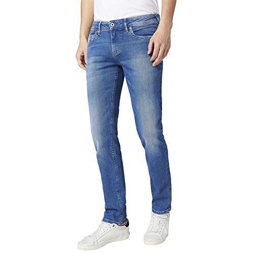 Pepe Jeans Herren jeans herren slim fit Pepe Jeans, Blau (Medium Used 000), W30/L34