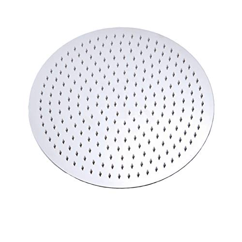 Drenky ronde douchekop regendouchekop 304 roestvrij stalen douchekop spiegel gezicht 180° draaibaar krachtige hoge druk Top Spray badkamer regendouche douchekop