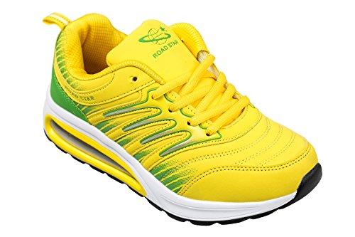 gibra Sportschuhe, sehr leicht und bequem, gelb/grün, Gr. 39