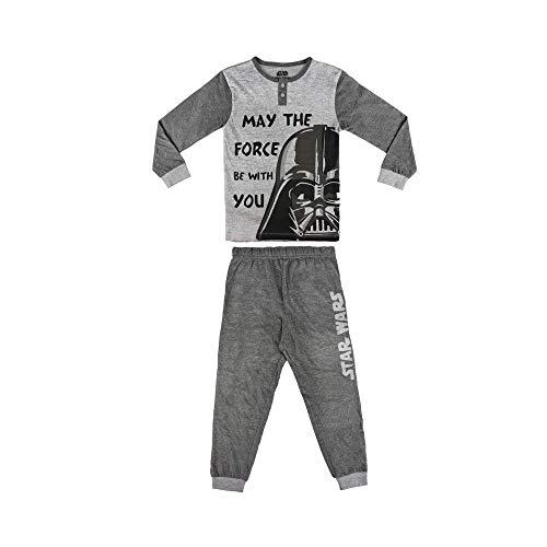 22-2282 PIjama invierno para niños motivo STAR WARS tallas de 6 a 12 años - 5/6 años