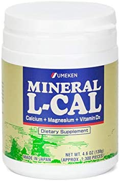 Umeken Mineral L-Cal Supplement Small E Bottle Supply 2 Month Limited Large-scale sale Special Price