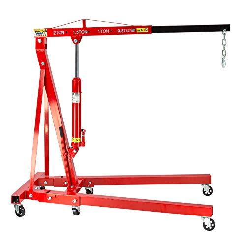 DEMA Werkstattkran/Motorheber bis 2000 kg klappbar
