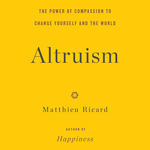 Altruism audiobook cover art