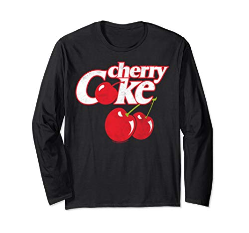 Coca-Cola Cherry Coke Logo Long Sleeve T-Shirt