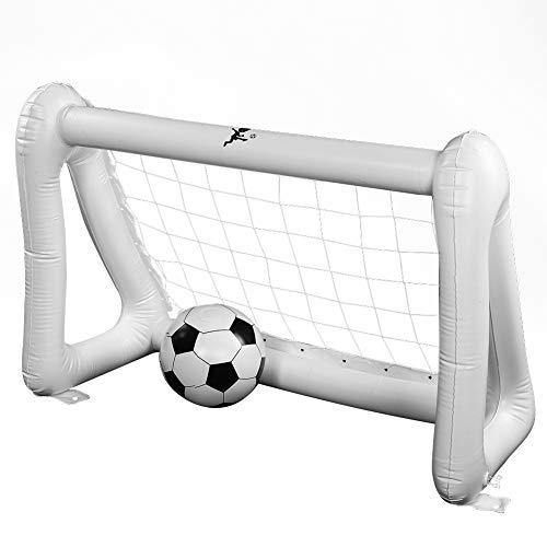 wangy Aufblasbares Fußball-Spielset für drinnen und draußen, für Kinder