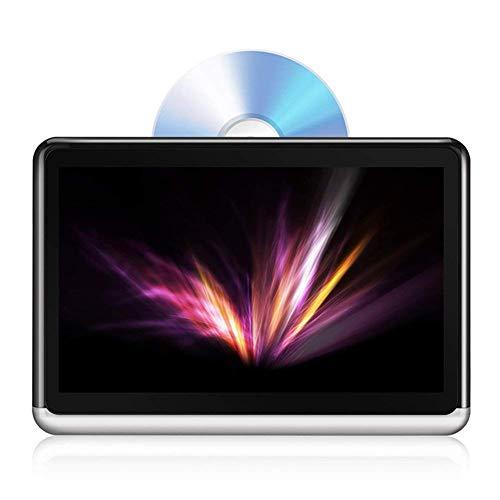 nbws, Pantalla táctil de 10,1Pulgadas Reproductor de DVD portátil de Coche reposacabezas de Multimedia Display I Bluetooth 4.0incorporada de batería de 4000mAh
