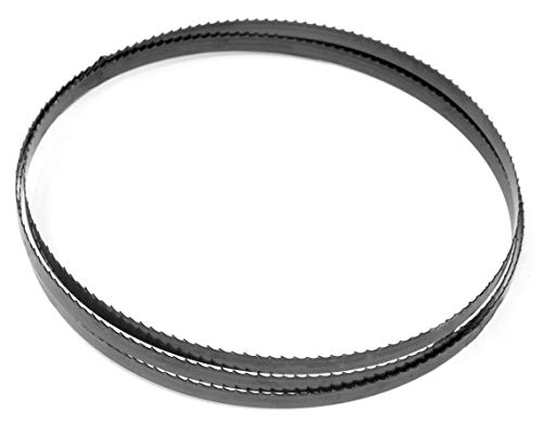 WEN BB7250 72' Woodcutting Bandsaw Blade with 6 TPI & 1/2' Width