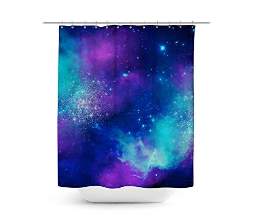 Queen of Cases Beautiful Galaxy - Duschvorhang in 4 Größen