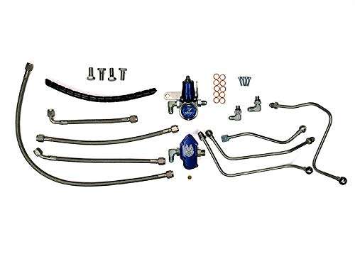 Price comparison product image Regulated Fuel Return Sinister Diesel Kit for Ford Powerstroke 6.0L