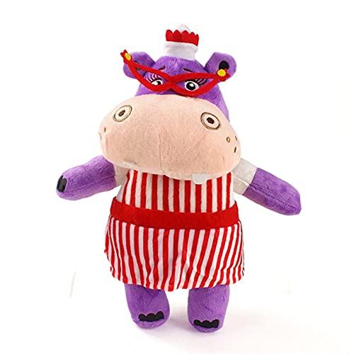 JSJJATQ Juguete de Peluche Clínica de Peluche Juguetes Doctor Donny Stuffy Dragon Lambie Ovejas Hallie Hippo Animal Muñecas Relleno Regalos de cumpleaños (Color : 31cm)