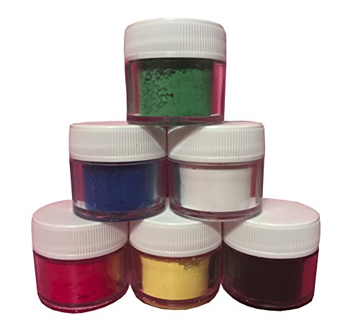 Oh! Sweet Art PETAL DUST PRIMARY SET OF 6 : 4 grams each container Dust By Corp