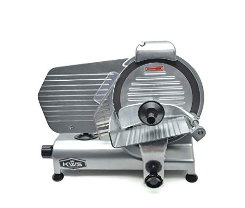 KWS Commercial 320W Electric Meat Slicer 10