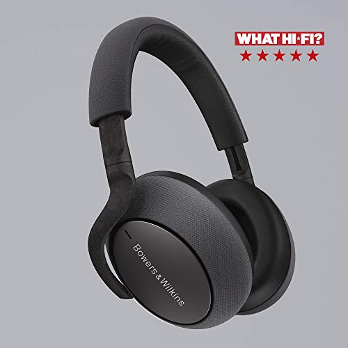 Bowers & Wilkins PX7 Wireless Over Ear Headphones with Active Noise Cancellation - Space Grey