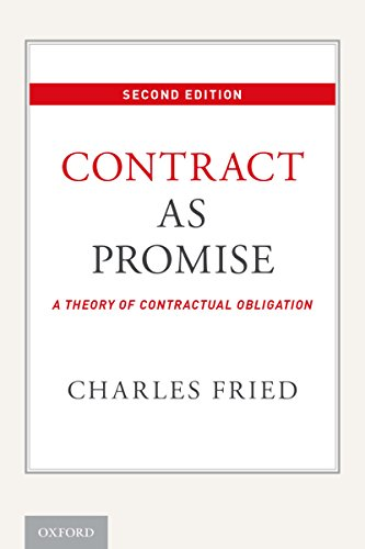 Contract as Promise: A Theory of Contractual Obligation (English Edition)