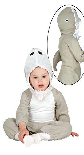 costume de bébé requin 12-24 mois