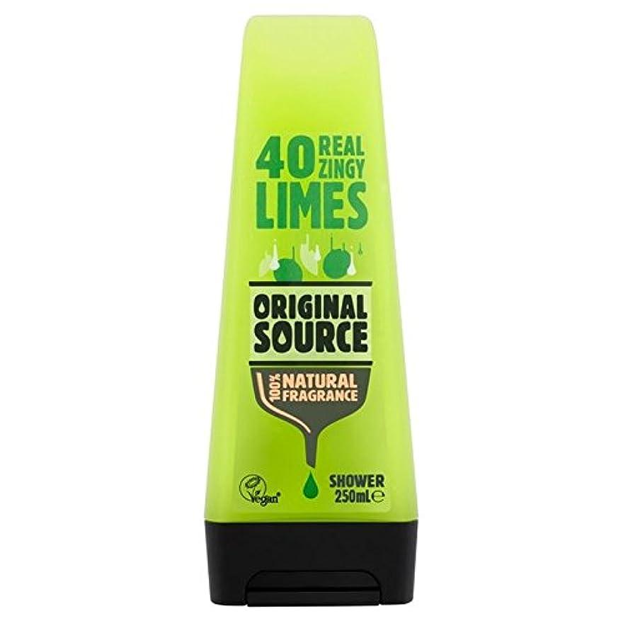 指嵐姪元のソースライムシャワージェル250ミリリットル x2 - Original Source Lime Shower Gel 250ml (Pack of 2) [並行輸入品]