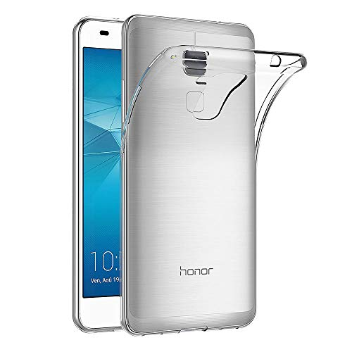 AICEK Huawei Honor 5C Hülle Hülle, Ultra-Clear Honor 5C Hülle Silikon Soft TPU Crystal Clear Premium Durchsichtig Handyhülle Schutzhülle Hülle Backcover Bumper Slimcase für Honor 5C