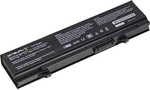 4400mAh Mitsuru Batterie de Remplacement Ordinateur Portable Compatible avec Dell Latitude E5500 remplace Dell PW649 PW651 RM649 RM656 RM661 RM668 T749D U116D W071D WU841 WU843 WU852 X064D