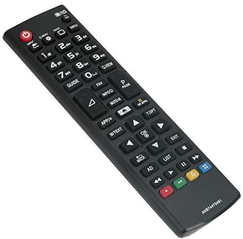 ALLIMITY AKB 74815301 Fernbedienung Ersetzen für LG Soundbar Speaker LAS160B LAS453B LAS260B LAS454B SPH4B-W S55A3-D LAS260B LAS453 LAS465B LAC553B SH3K