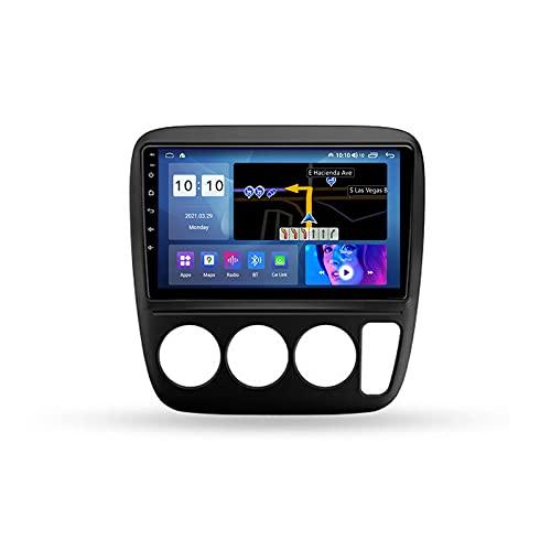 ADMLZQQ Autoradio Coche Bluetooth 2 DIN Android Radio De Coche 9'' Pantalla Táctil 5G WiFi Plug and Play Completo RCA Soporte Carautoplay/GPS/Dab+/OBDII para Honda CRV CR-V 1995-2001,M200s