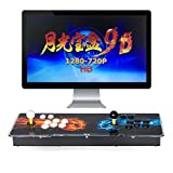 Pandora's Box 9D Multiplayer Joystick and Buttons Arcade Console, TAPDRA Arcade Games Machines for home, 2700 Retro Classic Video Games All in One, Newest System with Advanced CPU Compatible with HDMI