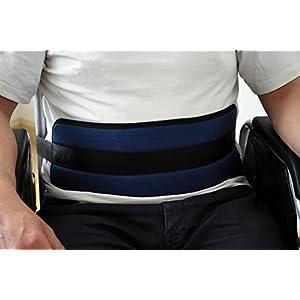 ORTONES   Cinturón de sujeción abdominal para silla de ruedas Talla Unica.