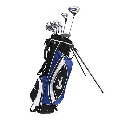 Confidence Golf Power Hybrid Club Set & Stand Bag