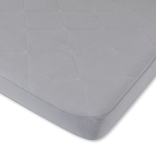 Waterproof Cotton Quilted Pack n Play Sheet | Mini Crib Sheet | New Revised Fit with Added Heat...