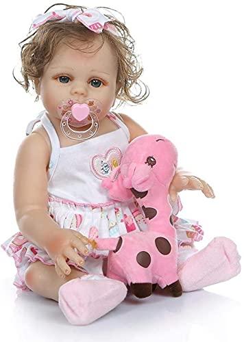 Sleeping Rebirth Baby Doll Simulação Realística Completa de Silicone Soft Kids Playmate Brinquedos de banho realistas Crianças Meninas Crianças Educação Acompanham Su