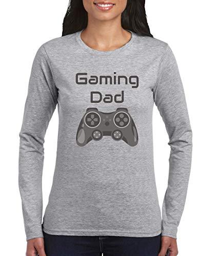 Camiseta de manga larga – Mando de consola de juegos Gaming Dad...