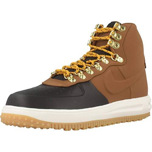 Nike Lunar Force 1 Duckboot '18, Zapatillas de Baloncesto Hombre, Multicolor (Black/Lt British Tan/Phantom 001), 44.5 EU