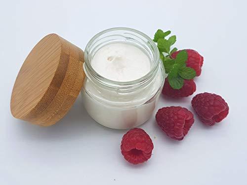 Zuckerpeeling Himbeer Minze, allergenfrei, plastikfrei, vegan, ohne Palmöl, handgemachtes Peeling von kleine Auszeit Manufaktur
