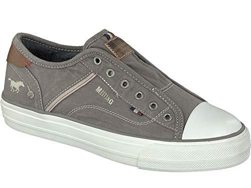 Mustang Damen 1272-401-2 Slip On Sneaker, Grau (Grau 2), 40 EU
