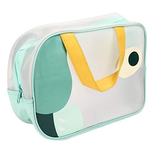 Le sac de maquillage, le sac cosmétique, peut accueillir différents outils tels que la brosse pour le maquillage de la brosse à dents, la crème pour le visage, etc.