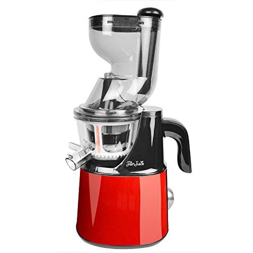 Fitinjuice - Estrattore di succo, 45 giri/minuto, silenzioso, colore: rosso