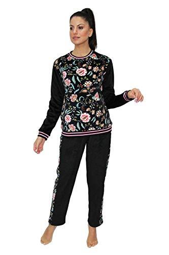 PROMISE Pijama de Mujer Estampado Floral...