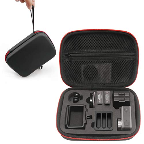 Kismaple DJI OSMO Action Camera 用 ケース 収納バッグ 防水、耐衝撃 大容量 収納できる - カメラフレーム...