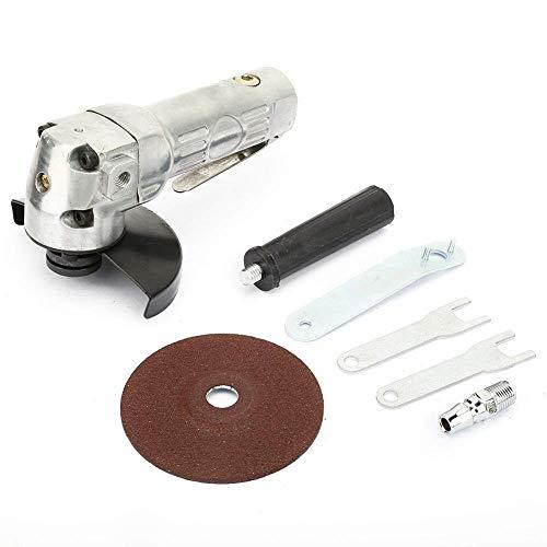 Amoladora de ángulo, amoladora de ángulo de 4 aire, pulidora de corte, herramienta de amoladora neumática de 11000 rpm, rosca de 1/4
